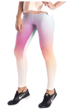 Ombre Sunset Leggings (Pastel) - Miss Active