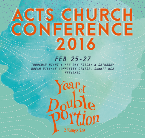 Acts Church Conference 2016 (Video or Audio)