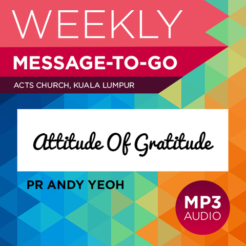 Attitude Of Gratitude (Audio)