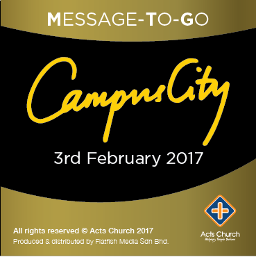 Campus City Live - 3rd February 2017 (Audio)