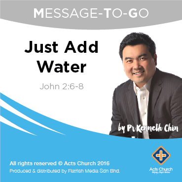 Just Add Water: John 2:6-8