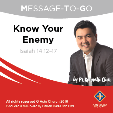 Know Your Enemy: Isaiah 14:12–17