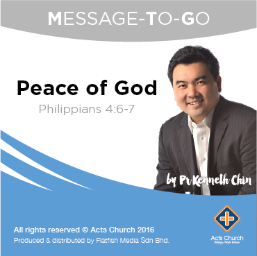 Peace of God: Philippines 4:6-7