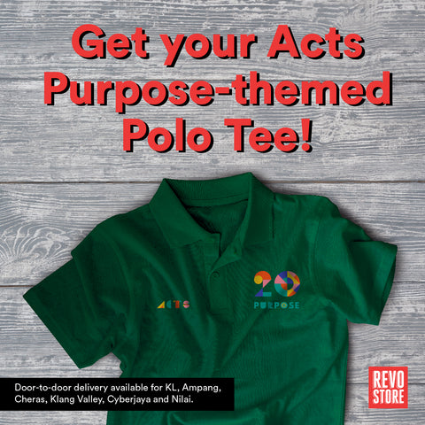 Acts Polo Tee 2020: Purpose