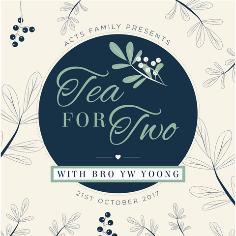 Tea for Two: For Me and My House We Will Serve The Lord