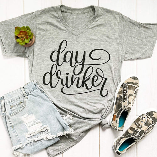 Envy Stylz Boutique Women - Apparel - Shirts - T-Shirts Day Drinker Soft Graphic Tee
