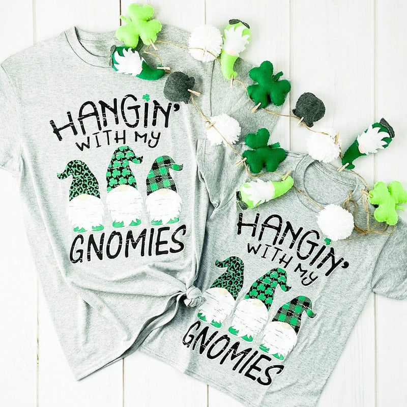 Envy Stylz Boutique Women - Apparel - Shirts - T-Shirts Hangin' With My Gnomies Graphic Tee
