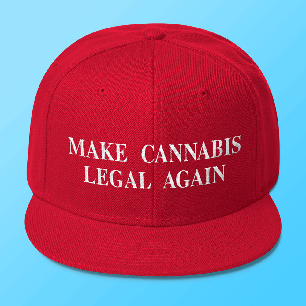 Make Cannabis Legal Again - Snapback Hat