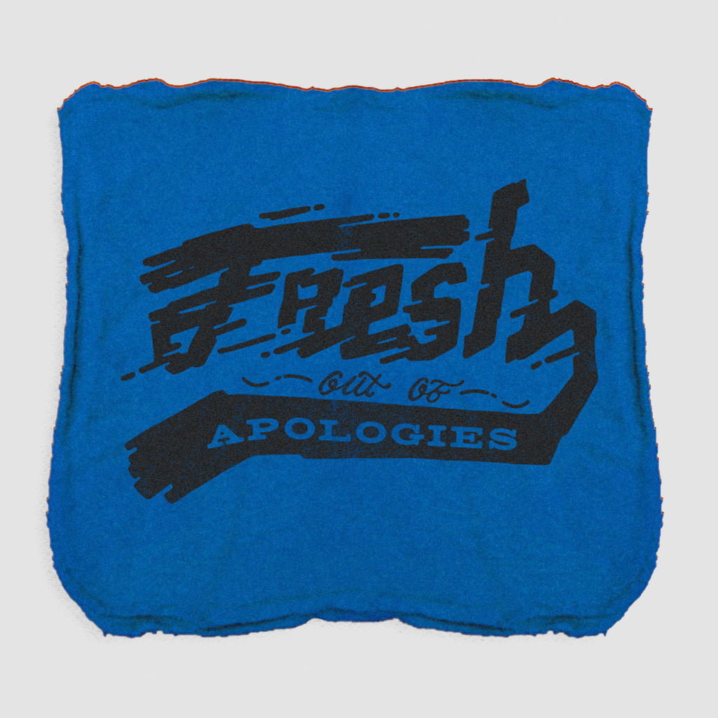 Fresh Out of Apologies Shop Rag (Qty 2)