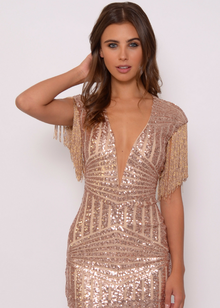 Sequin Birthday Dress