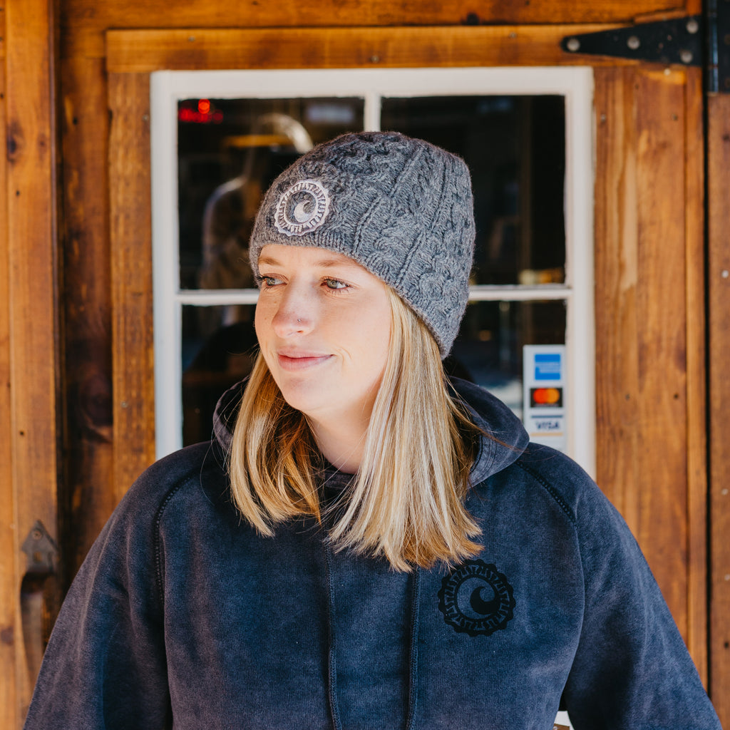 CISCO BREWERS CABLE KNIT BEANIE
