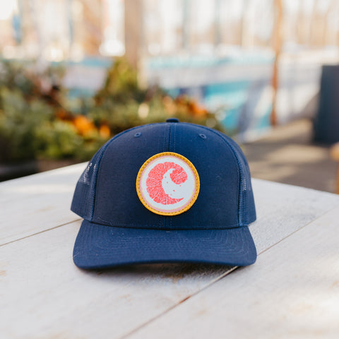 CISCO BREWERS EMBROIDERED TRUCKER HAT