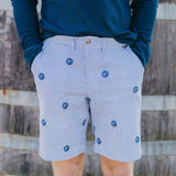 CISCO BREWERS PIPING PRINT MEN'S SHORTS