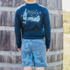 WHALES TALE PALE ALE FAIR HARBOR SWIM TRUNKS