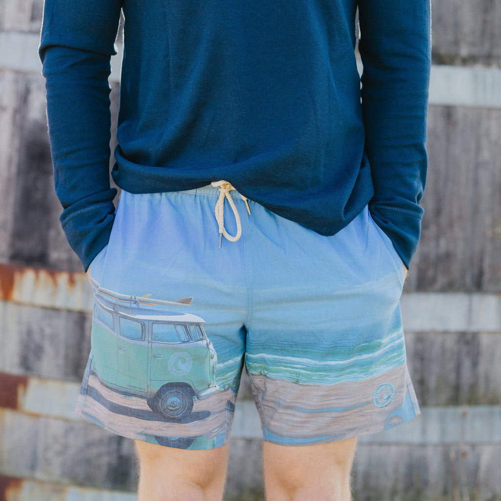 CISCO BREWERS FAIR HARBOR SWIM TRUNKS