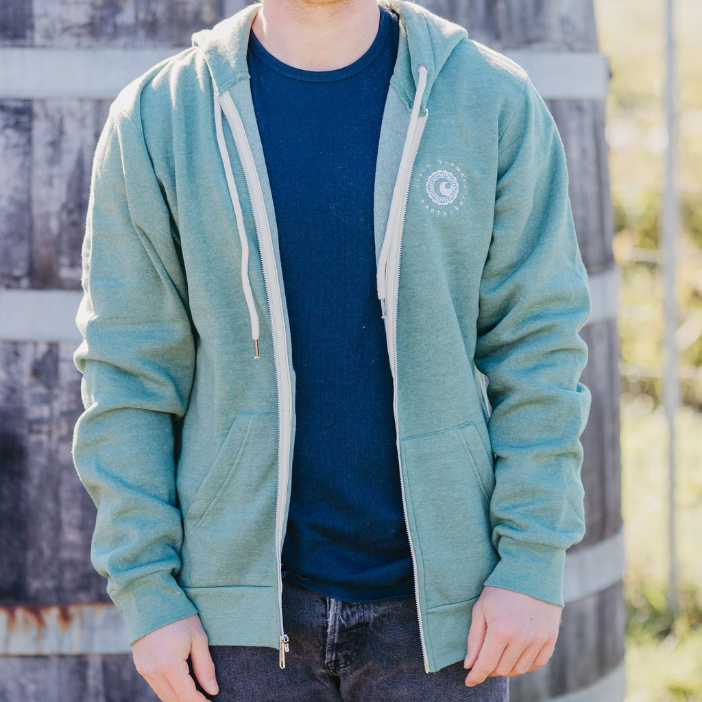 CISCO BREWERS LANDAWAY FULL ZIP HOODIE