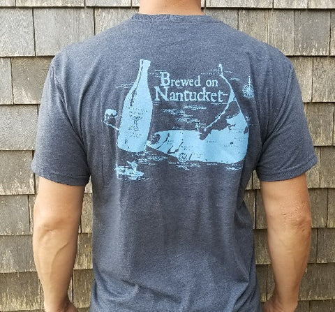 BREWED ON NANTUCKET THERMAL UNISEX LS T-SHIRT