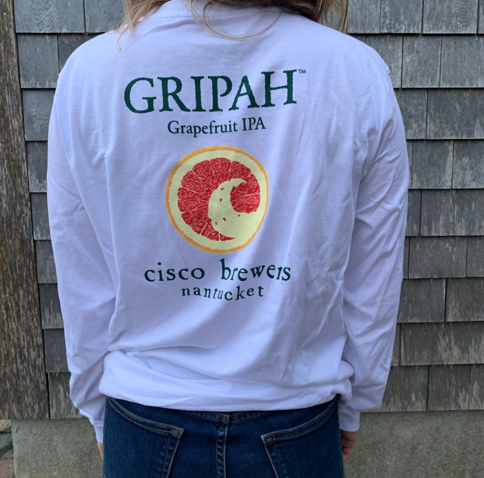 GRIPAH IPA UNISEX LS T-SHIRT (MULTIPLE COLORS)