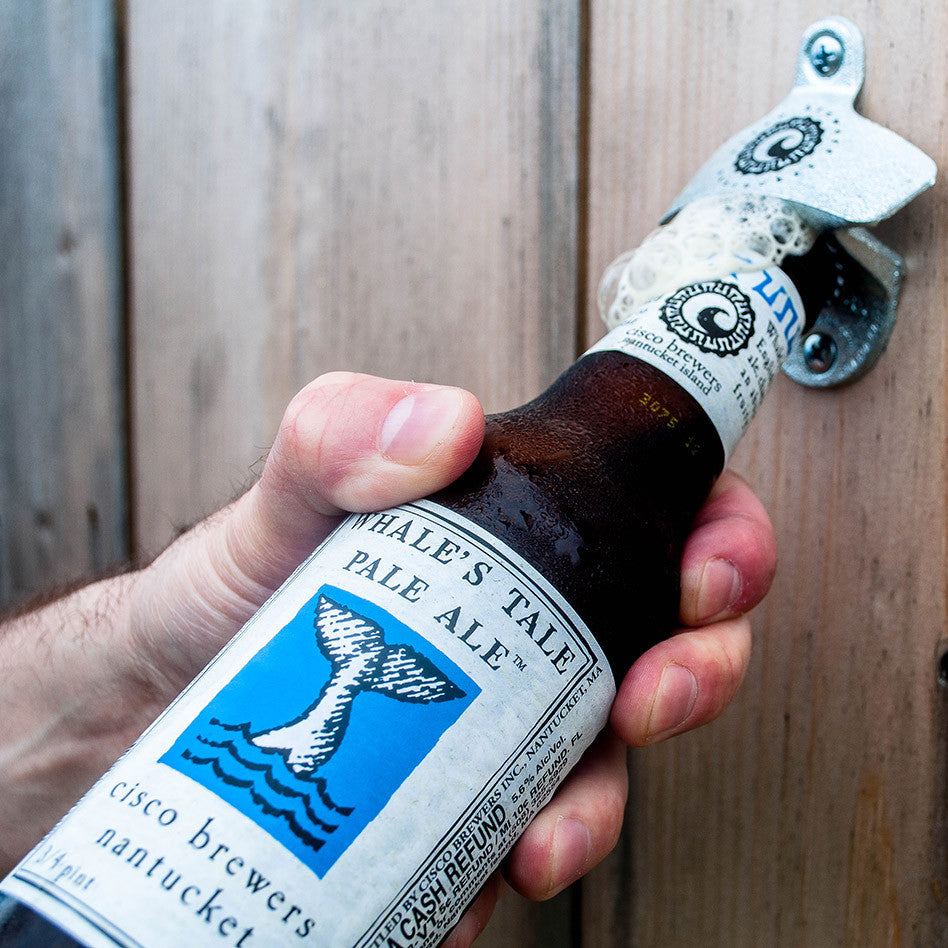 CISCO BREWERS WALL MOUNT BOTTLE OPENER