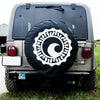 CISCO BREWERS TIRE COVER- WITH BACKUP CAMERA CUTOUT