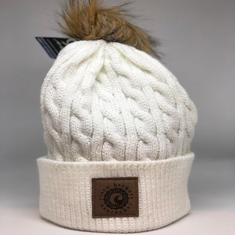 9c3f9aaca8a CISCO BREWERS LADIES KNIT BEANIE WITH POM
