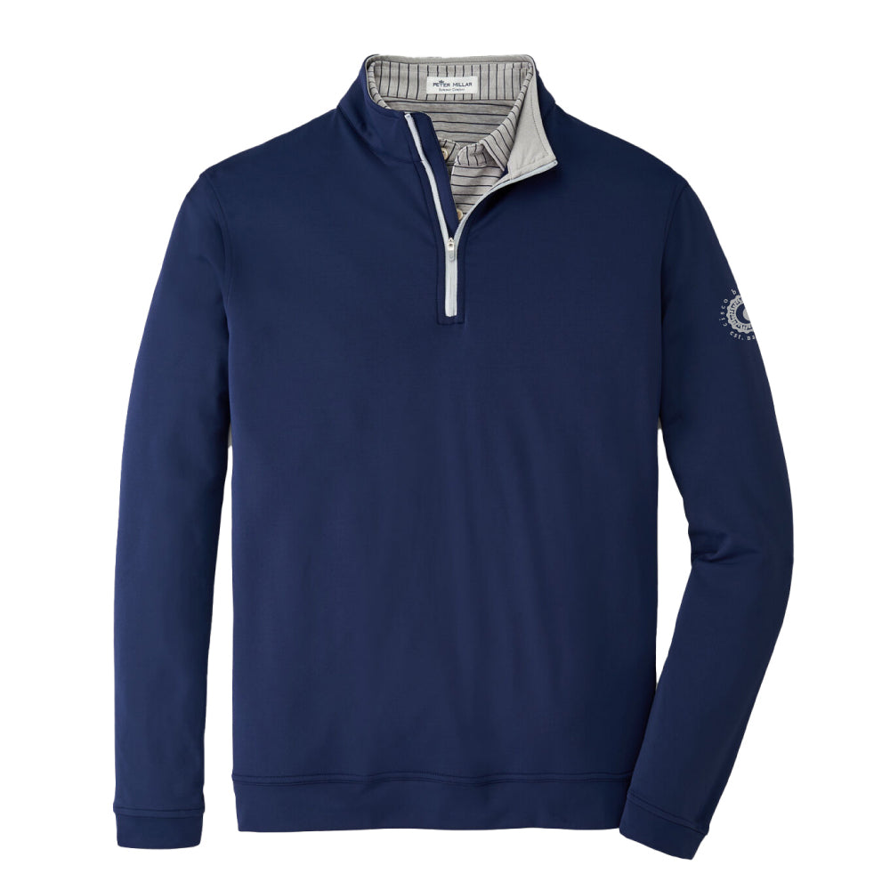 PETER MILLAR PERTH STRETCH LOOP QUARTER ZIP PULLOVER