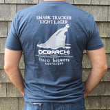 SHARK TRACKER UNISEX SS T-SHIRT
