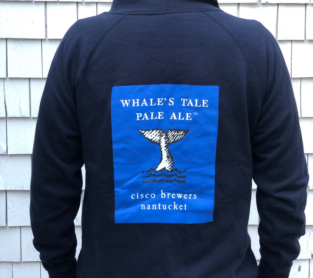 WHALES TALE PALE HOODED SWEATSHIRT