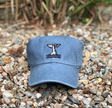WHALES TALE COTTON TWILL HAT
