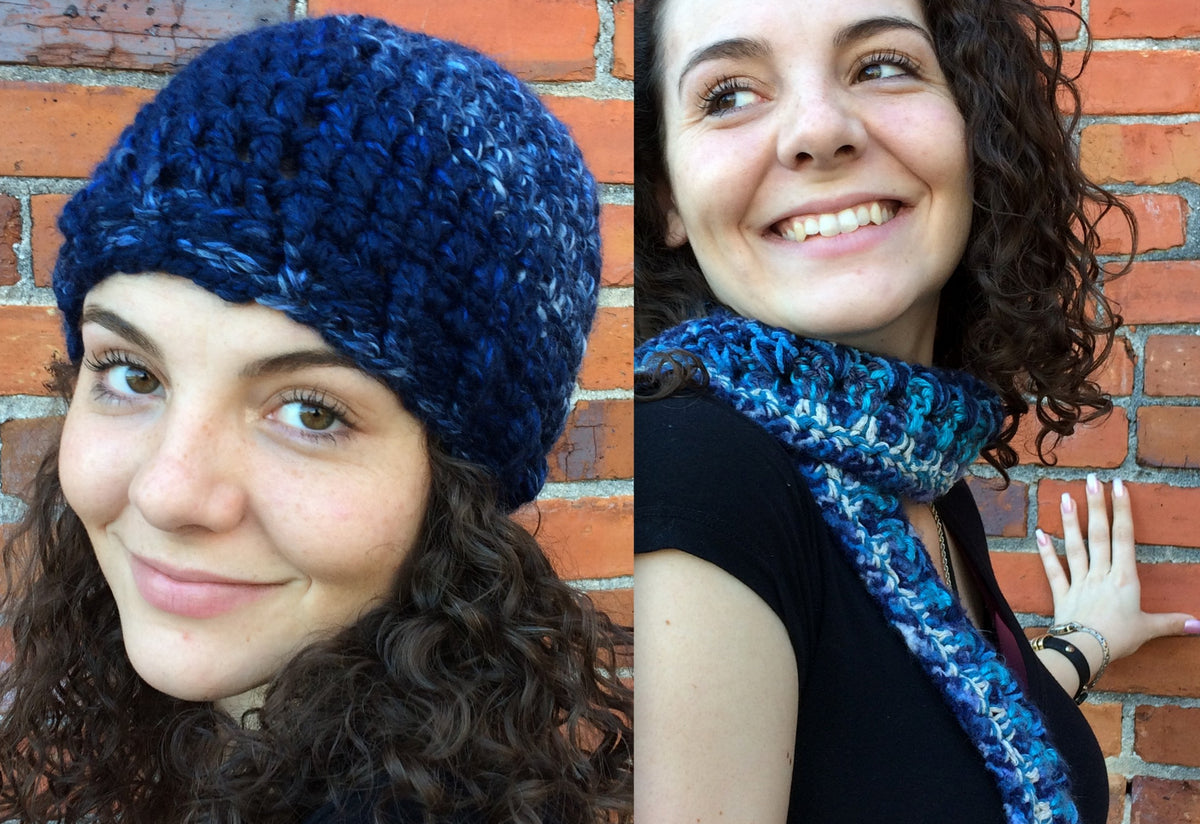 Crochet Hats & Scarves