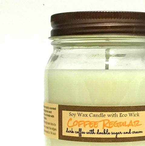 Coffee Regular Scented Soy Wax Candle