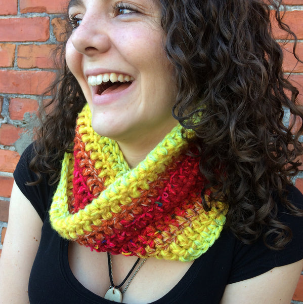 Warm Mix Infinity Scarf/Cowl
