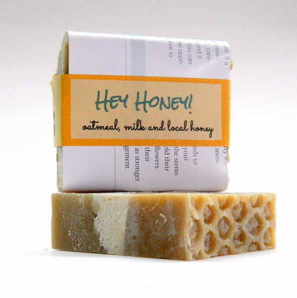 HEY HONEY! Oatmeal Milk and Honey handmade soap