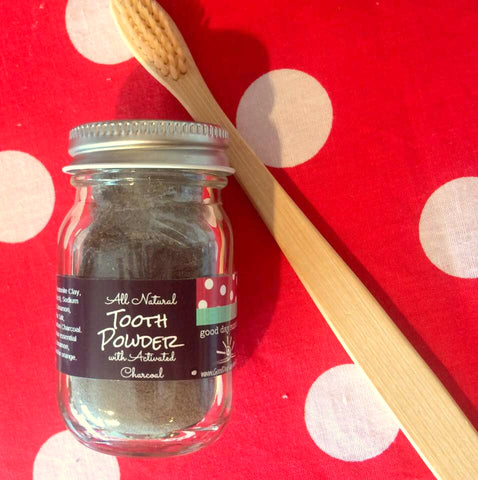Tooth Powder - Activated Charcoal and Bentonite Clay Toothpaste