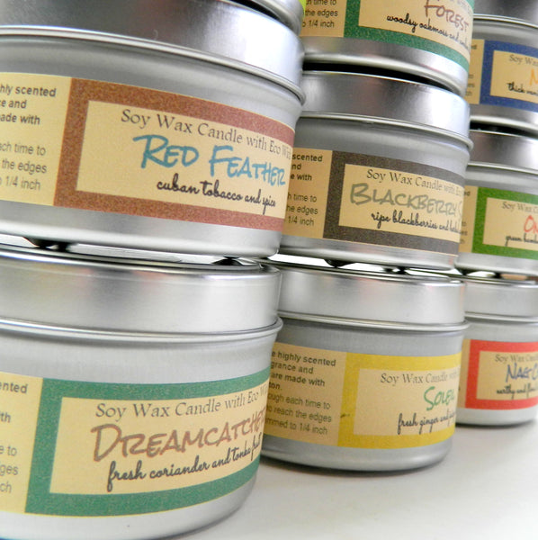 Retail Starter Pack - 6 oz Soy Candle Tins