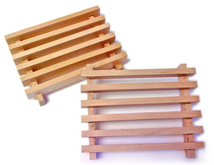 Wood Soap Drainer