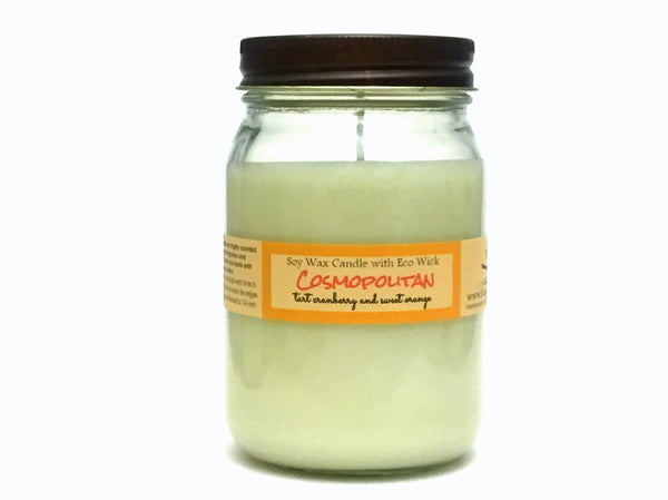 Cosmopolitan Scented Soy Wax Candle
