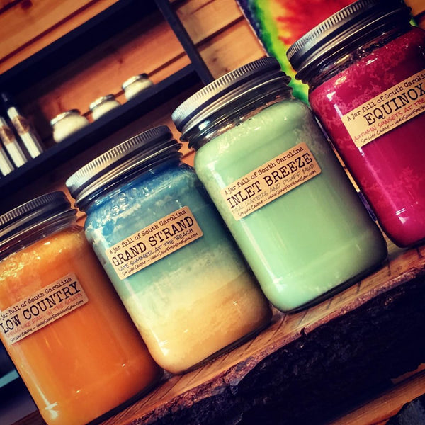 Set of 4 SC Fall Scented Soy Candles  Choose a size