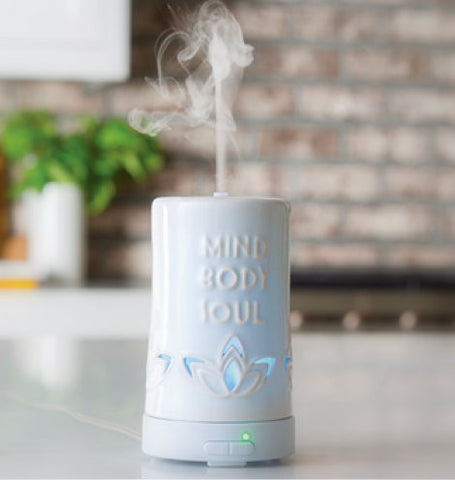 Ultrasonic Mist Diffuser - Mind, Body & Soul
