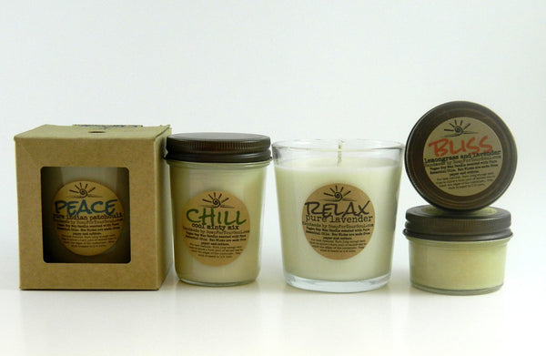 Essential Oil Candles Sampler Pack