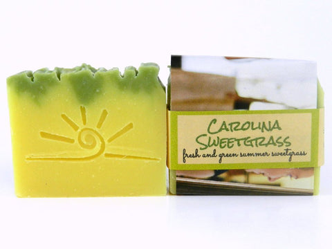 Carolina Sweetgrass - Handmade Soap