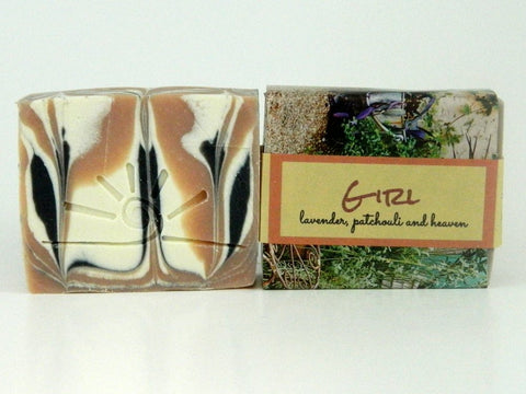 Girl - Handmade Soap with Lavender and Patchouli