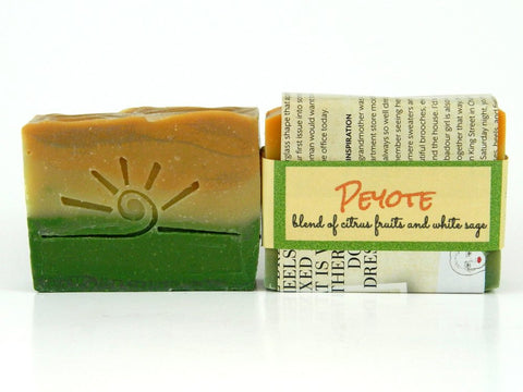 Peyote Soap - Citrus and Sage Blend Handmade Soap