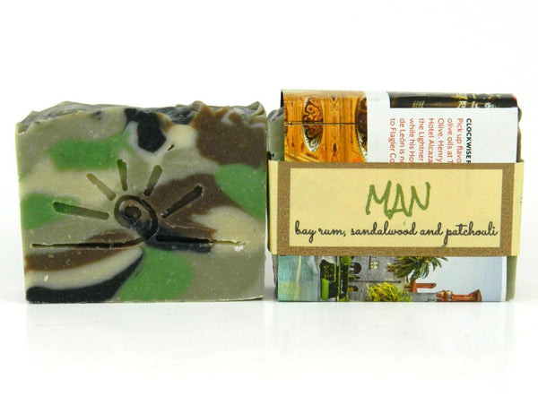 Man - Bayberry, Patchouli & Sandalwood Soap