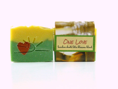 One Love - Lotus Blossom & Bamboo