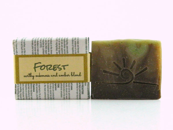 Forest - Oak Moss & Amber Handmade Soap