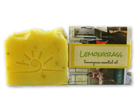 Lemongrass Essential Oil Soap