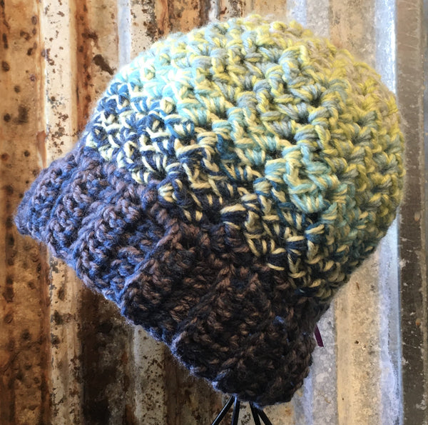 Two Strand Crochet Beanie Hat