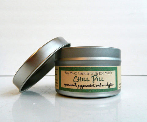 Chill Pill Scented Soy Wax Candle