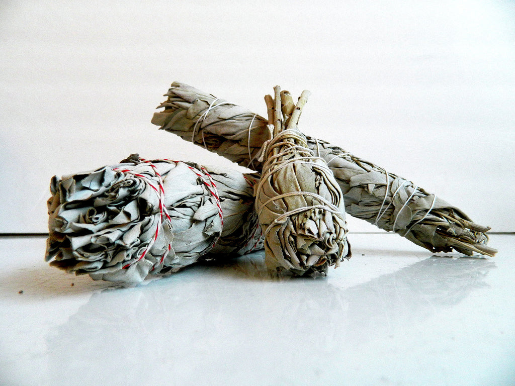White Sage Smudge Stick Bundles